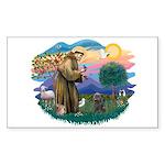 St Francis #2/ Cairn (br) Sticker (Rectangle 10 pk