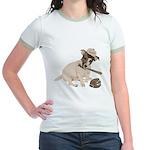 Fun JRT product, Baseball Fever Jr. Ringer T-Shirt