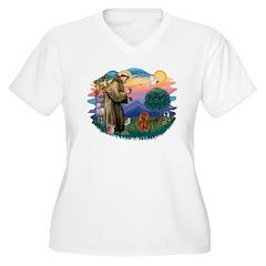 St Francis #2/ Cavalier (r) T-Shirt