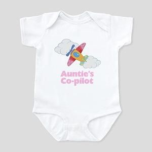 Auntie's Little Co-pilot (Gir Infant Bodysuit