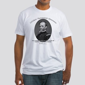 William Sherman 01 Fitted T-Shirt