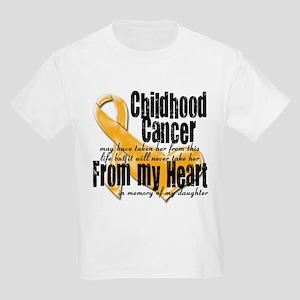 Daughter Childhood Cancer Kids Light T-Shirt