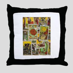 Tarot Throw Pillow