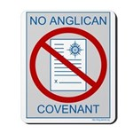 No Anglican Covenant Mousepad