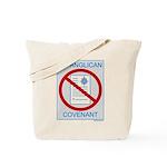 No Anglican Covenant Tote Bag
