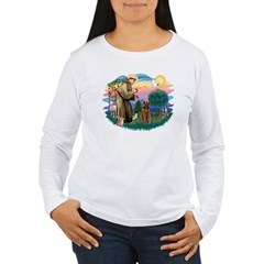 St Francis #2/ Airedale T-Shirt
