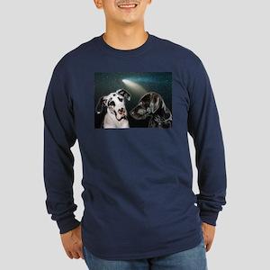 Star Struck Long Sleeve Dark T-Shirt