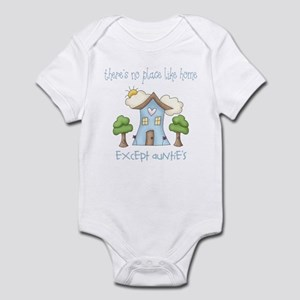 No Place Like Home - Auntie's Infant Bodysuit
