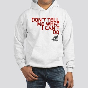 LOST Don't Tell Me John Locke Hooded Sweatshirt
