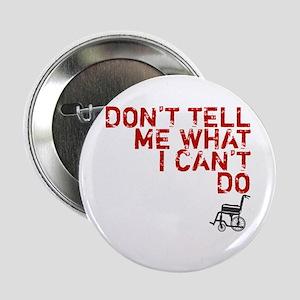 "LOST Don't Tell Me John Locke 2.25"" Button"