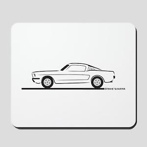 1965 Mustang Fastback Mousepad