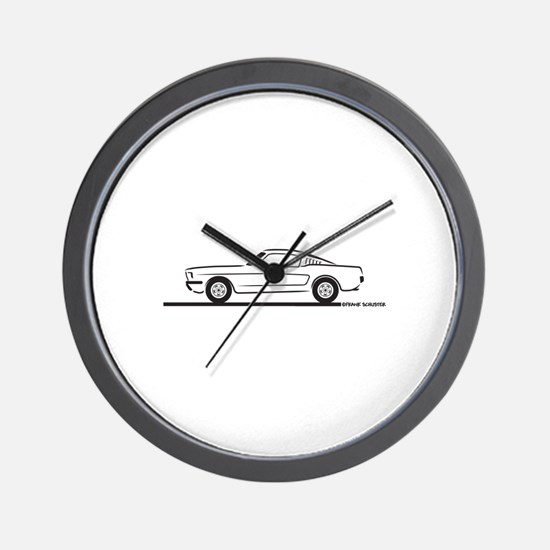 1965 Mustang Fastback Wall Clock