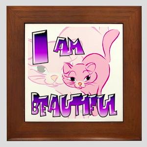 Clip Cat Framed Tile