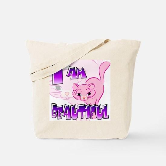 Clip Cat Tote Bag