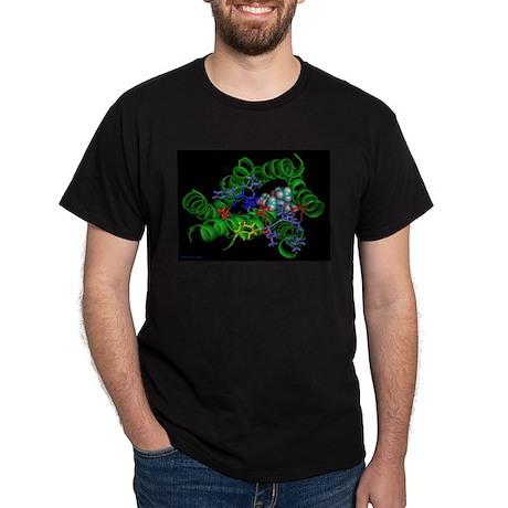 LSD and Receptor Black T-Shirt