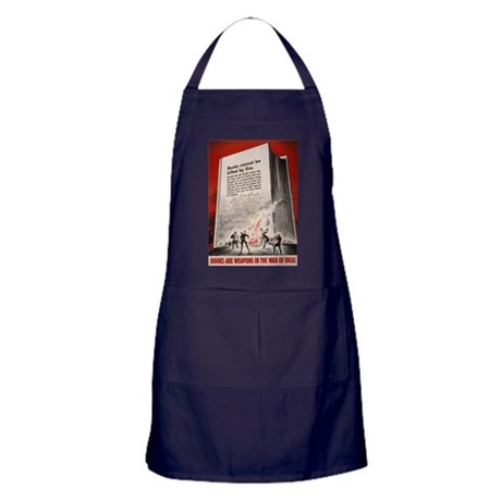 """Books cannot be killed by fi Apron (dark)"
