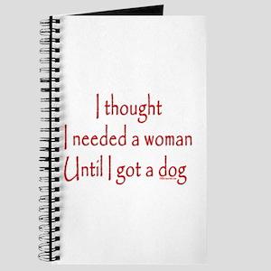 Got a dog! Journal