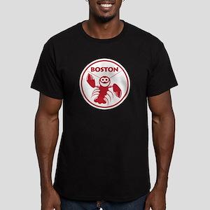Boston Lobster Men's Fitted T-Shirt (dark)