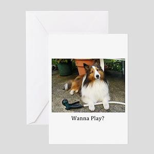 Wanna Play? Greeting Card