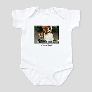 Wanna Play? Infant Bodysuit