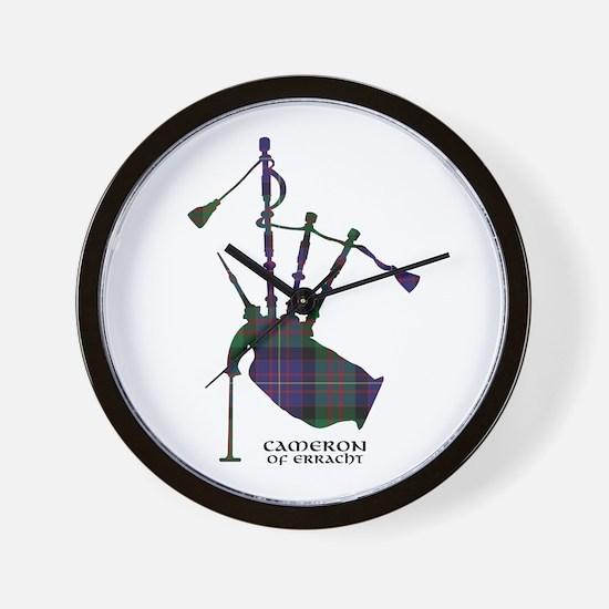 Cute Highland clans Wall Clock