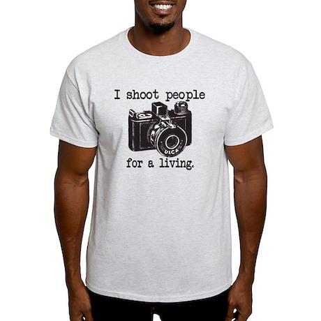 I Shoot People Light T-Shirt