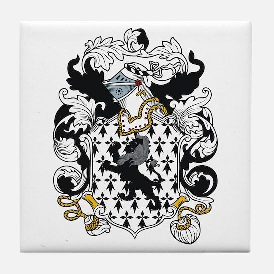 Kendrick Coat of Arms Tile Coaster
