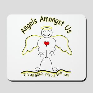 Angels Amongst Us 2 Mousepad