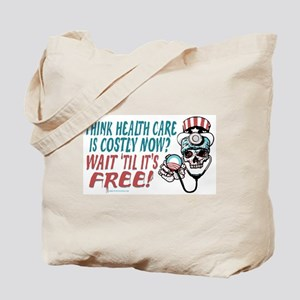 Obama's Health SCARE Tote Bag
