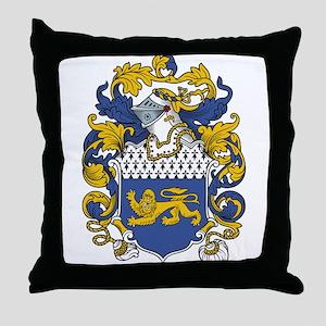Kent Coat of Arms Throw Pillow