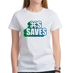 Command S Saves Women's T-Shirt
