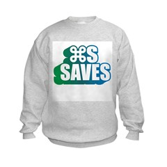 Command S Saves Sweatshirt