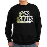 Command S Saves Sweatshirt (dark)