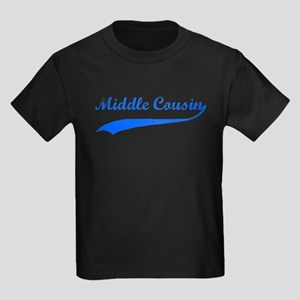 Middle Cousin Kids Dark T-Shirt