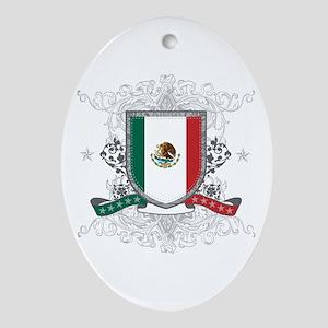 Mexico Shield Ornament (Oval)