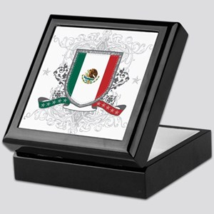 Mexico Shield Keepsake Box