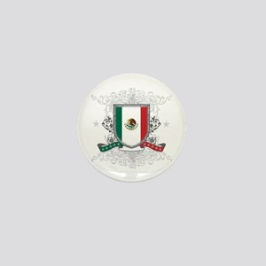 Mexico Shield Mini Button