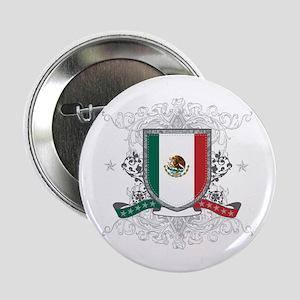 """Mexico Shield 2.25"""" Button"""