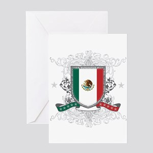 Mexico Shield Greeting Card