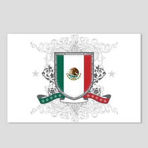 Mexico Shield Postcards (Package of 8)