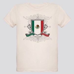 Mexico Shield Organic Kids T-Shirt