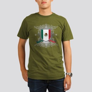 Mexico Shield Organic Men's T-Shirt (dark)