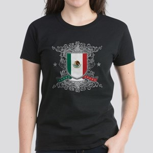 Mexico Shield Women's Dark T-Shirt