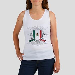 Mexico Shield Women's Tank Top