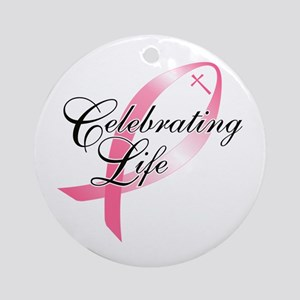 Celebrating Life Ornament (Round)