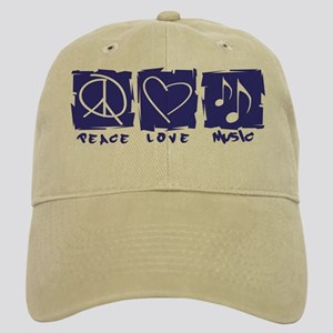 Peace.Love.Music Cap