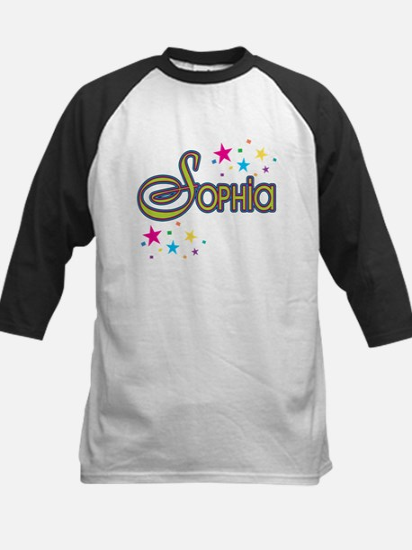 Sophia Kids Baseball Jersey