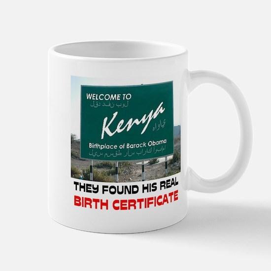 IS HE KENYAN ? Mug