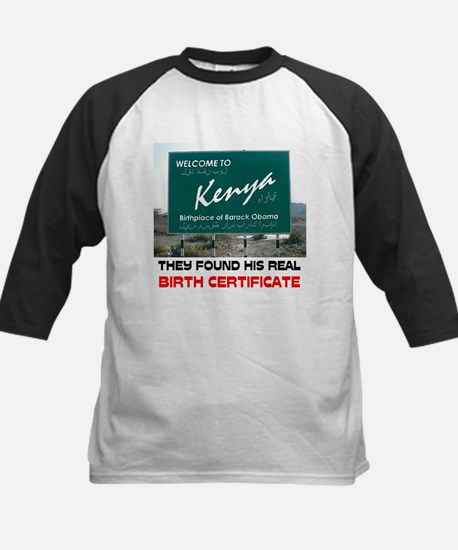 IS HE KENYAN ? Kids Baseball Jersey