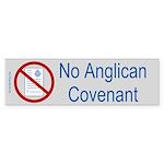 No Anglican Covenant Bumper Stickers (50 pk)